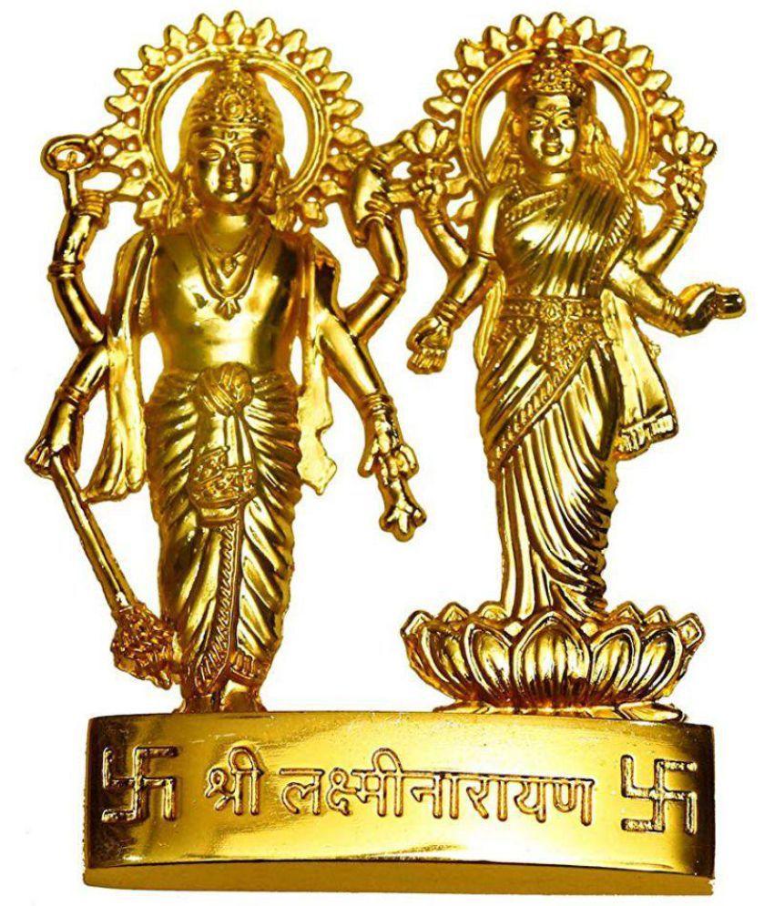 Rudra Divine Vishnu Laxmi Brass Idol Buy Rudra Divine Vishnu Laxmi Brass Idol At Best Price In India On Snapdeal
