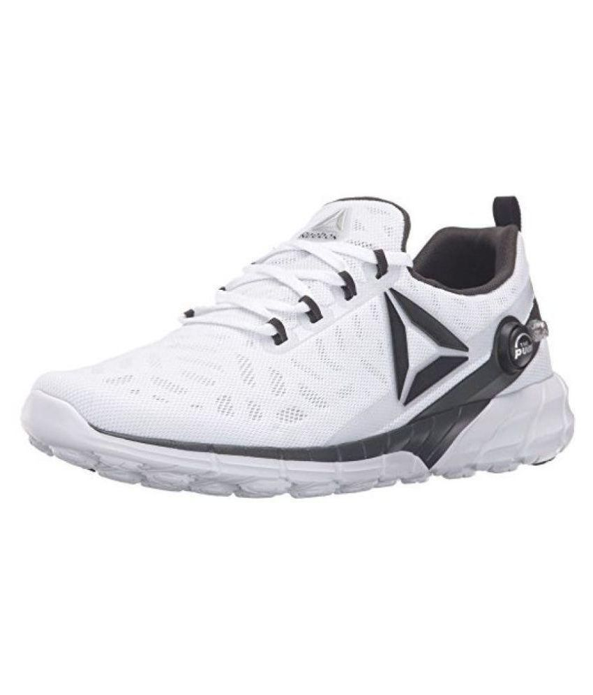 68861566b3c Reebok White Running Shoes - Buy Reebok White Running Shoes Online at Best  Prices in India on Snapdeal