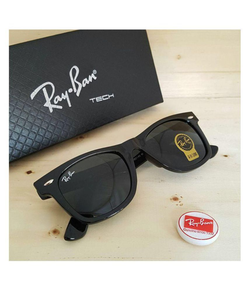 0d0fe5376d Ray Ban Sunglasses Black Wayfarer Sunglasses ( RB1206 ) - Buy Ray Ban  Sunglasses Black Wayfarer Sunglasses ( RB1206 ) Online at Low Price -  Snapdeal