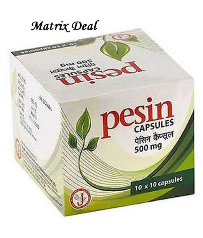 DR JRK'S Pesin Capsule 100 no.s