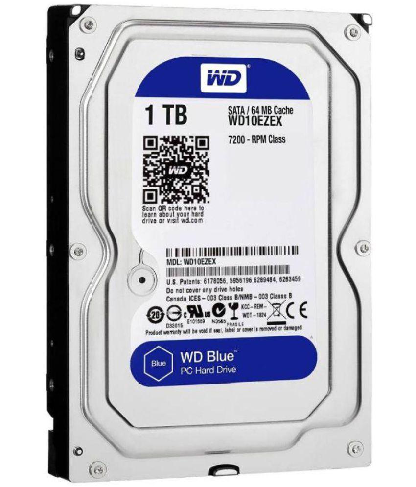 Western Digital wd10ezex 1 TB Internal Hard Drive Internal Hard drive