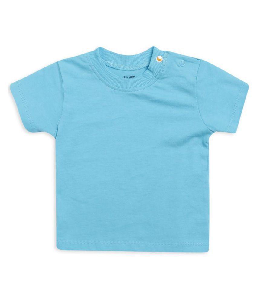 Mini Klub boys solid t-shirt with half sleeves