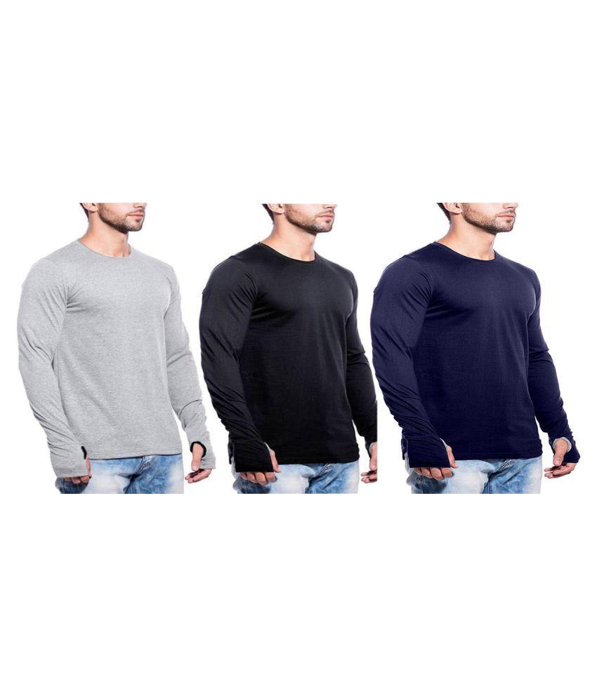 gWOWg Multi Full Sleeve T-Shirt