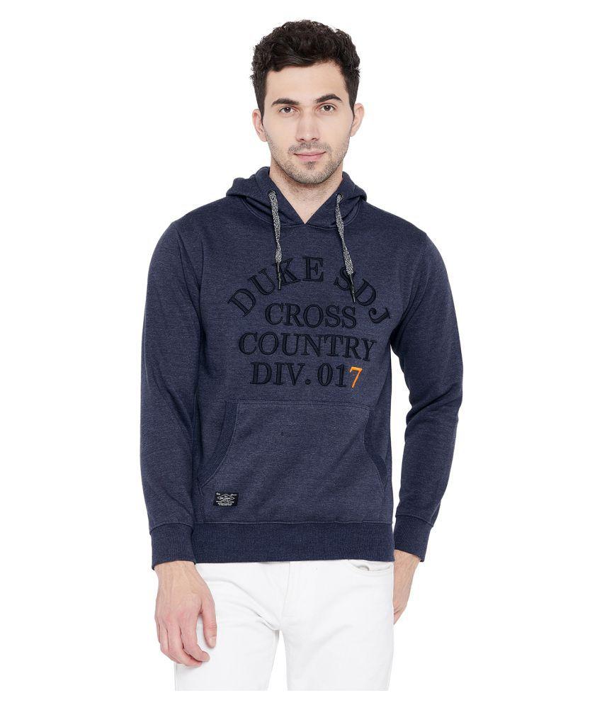 Duke Navy Hooded Sweatshirt