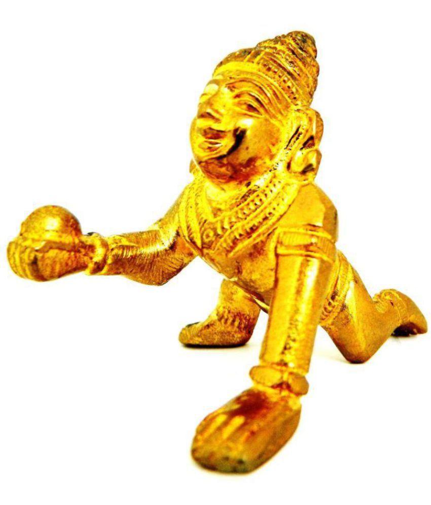 Shriram202001 Krishna Brass Idol