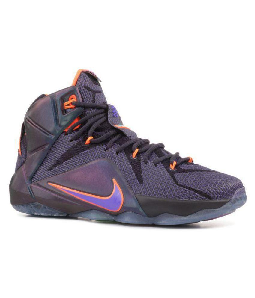 pretty nice 656f3 fa65d Nike lebron XII basketball Highankle Male Purple Nike lebron XII basketball  Highankle Male Purple ...