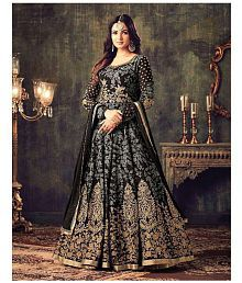 8776ed22cbb65 Black Salwar Suits  Buy Black Salwar Kameez Online at Low Prices in ...