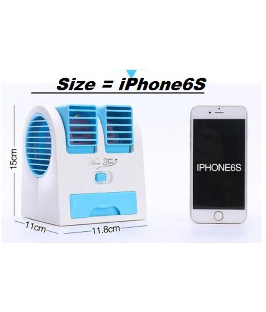 Vizio Mini Fan Amp Portable Dual Bladeless Small Air