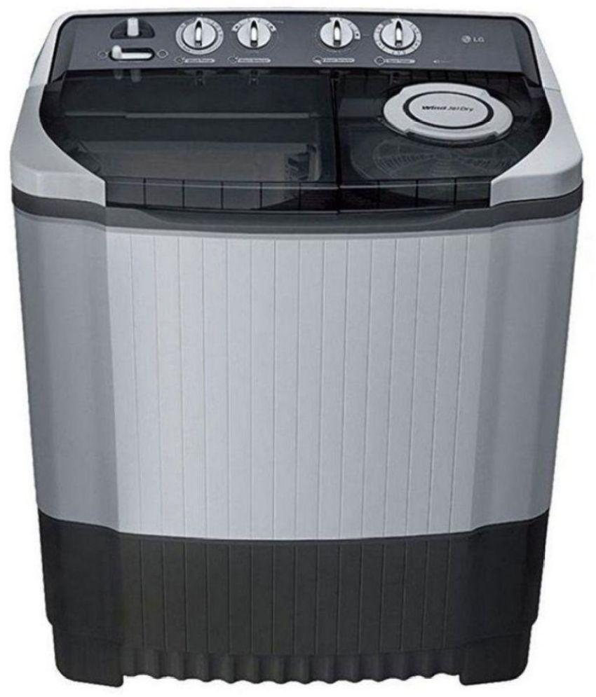LG 8 Kg P9039R3SM Semi Automatic Top Load Washing Machine