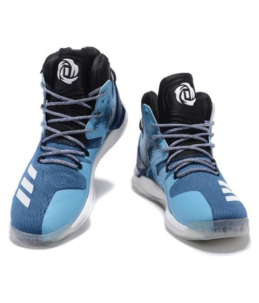 d6f81b012f64 Adidas D ROSE 7 PRIMEKNIT Blue Basketball Shoes - Buy Adidas D ROSE ...