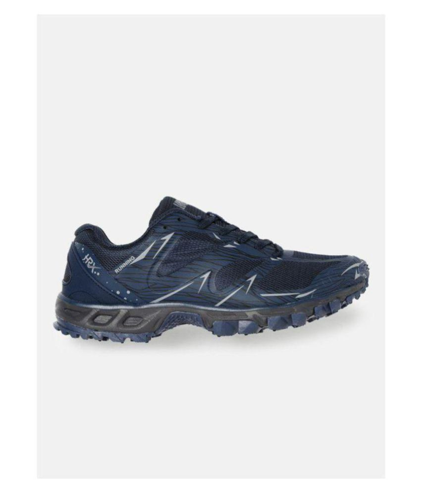 innovative design 32fbf 62b82 HRX Navy Running Shoes