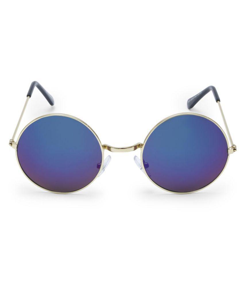 Rusko Blue Aviator Sunglasses ( rusko-kg128 )