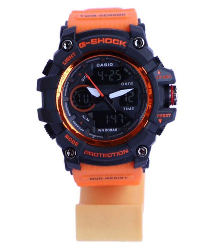 0fd28b335503 Casio G Shock Black Orange Edition Rubber Analog-Digital Men s Watch - Buy  Casio G Shock Black Orange Edition Rubber Analog-Digital Men s Watch Online  at ...