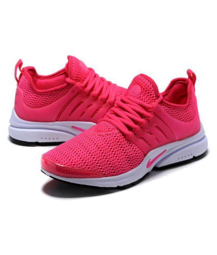 mens pink nike running shoes