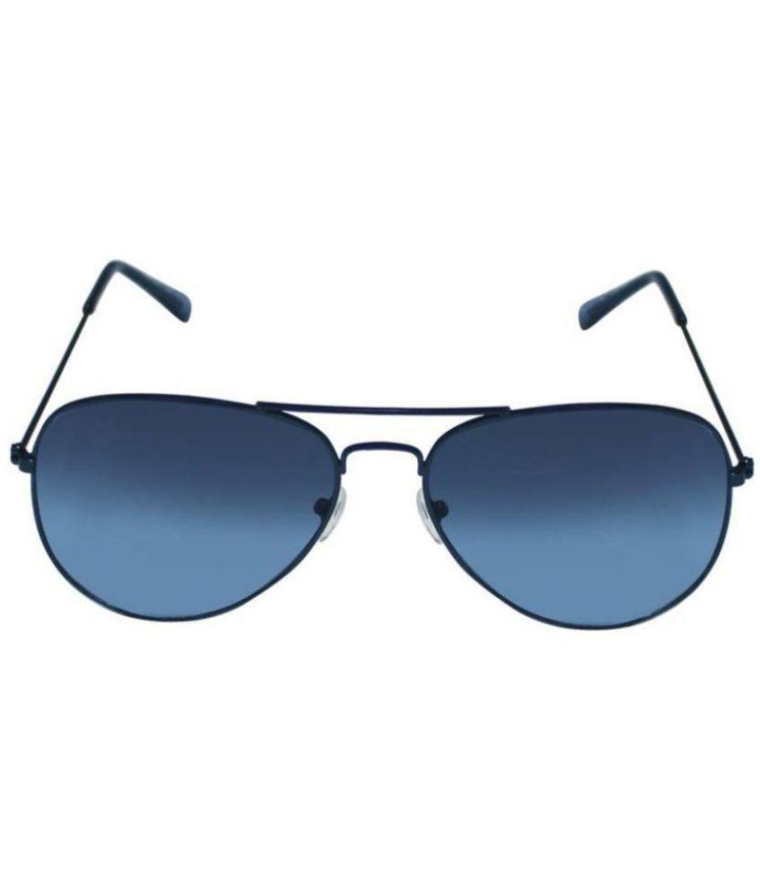 Latha Blue Aviator Sunglasses ( SL2740 )