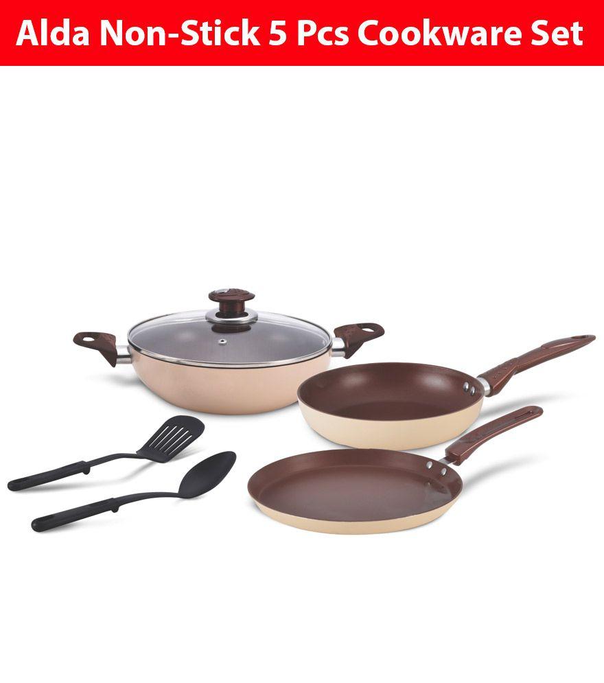 Alda CWNS3GIFTCNC 5 Piece Cookware Set