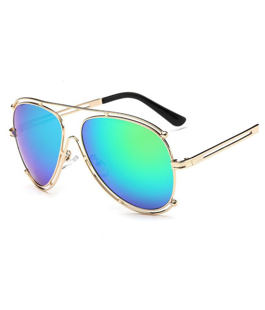 Generic Blue Round Sunglasses ( unknown )
