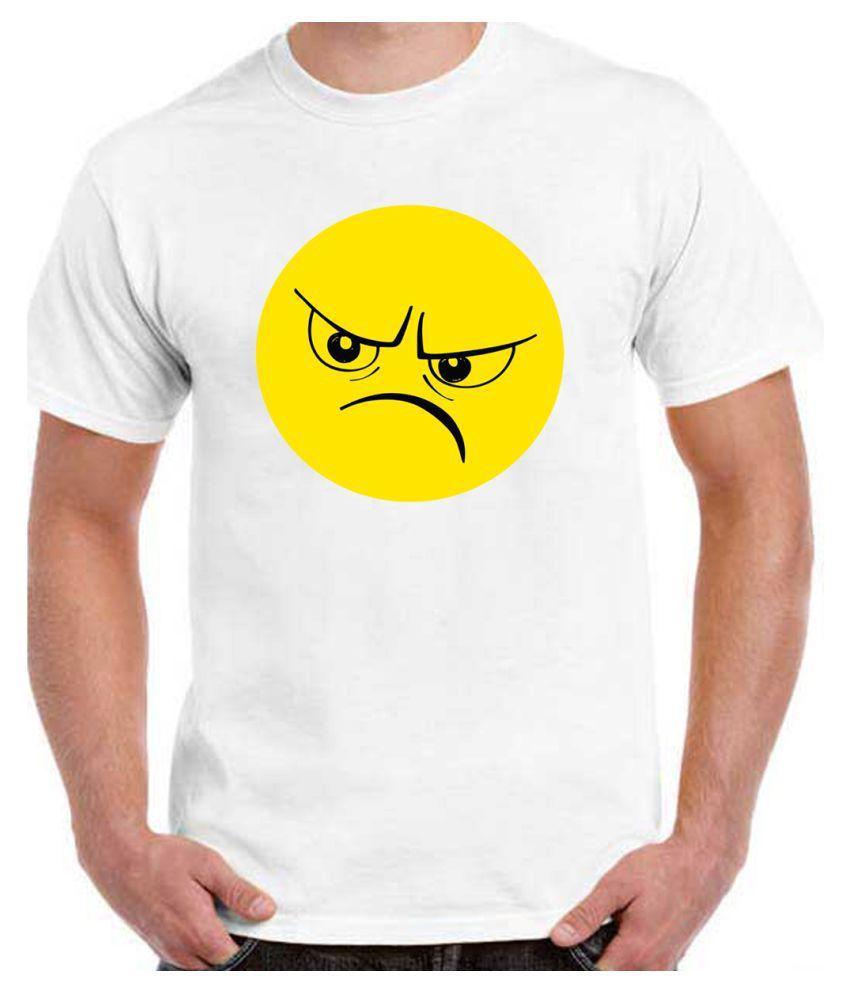 Ritzees White Half Sleeve T-Shirt