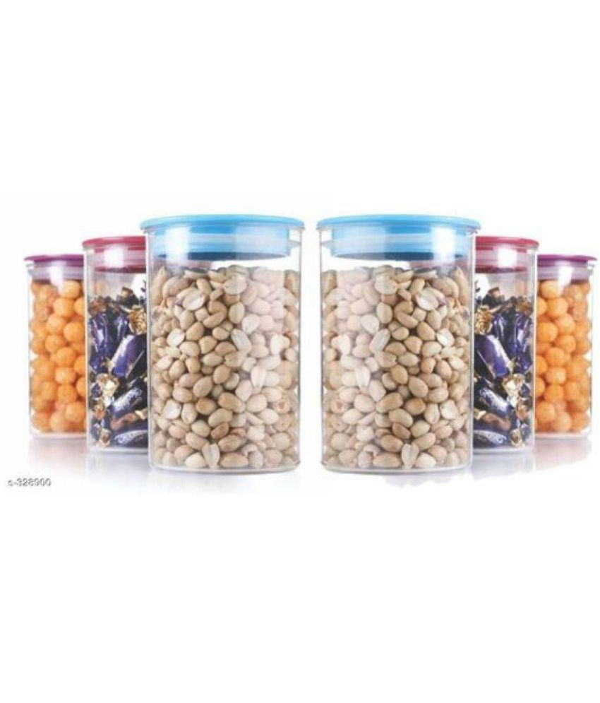 Analog kitchenware air tite container 6 pic Polycarbonate Food Container Set of 6
