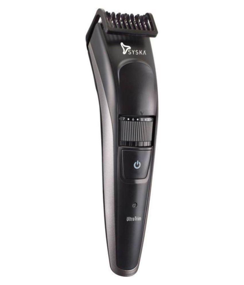 Syska HT800 Beard Trimmer   Black