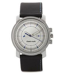 Fastrack 3039sl01 Leather Analog Men's Watch