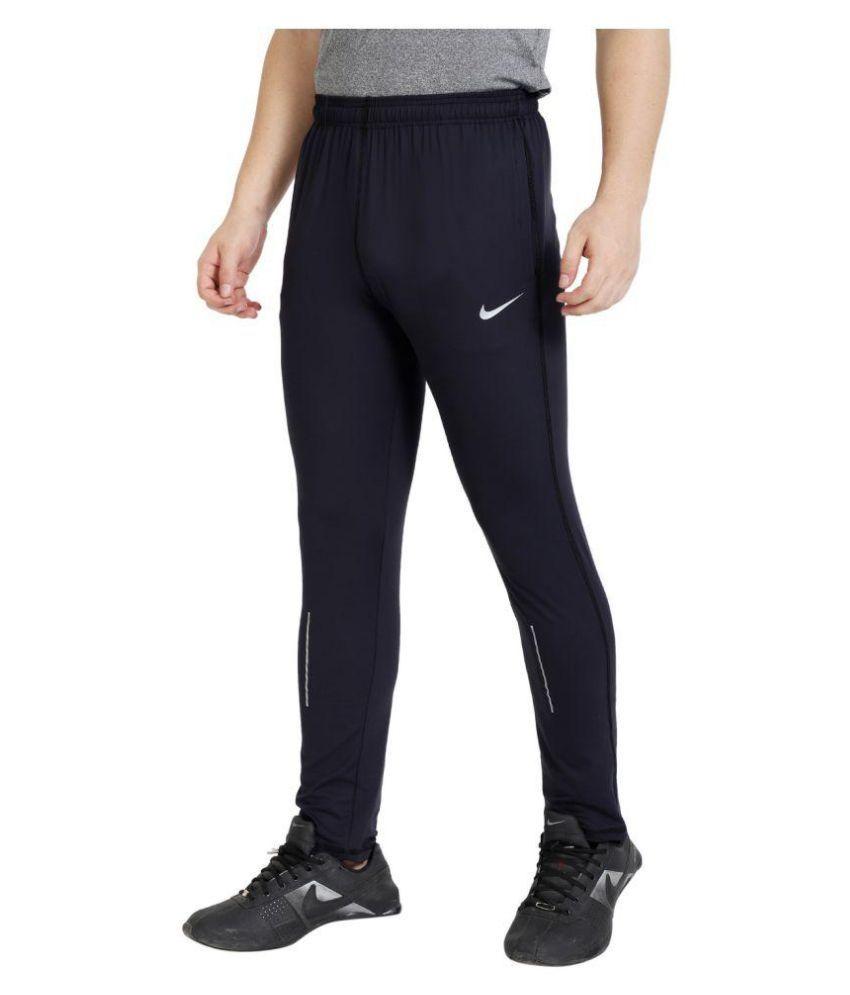 Nike Navy Blue polyester lycra jogge