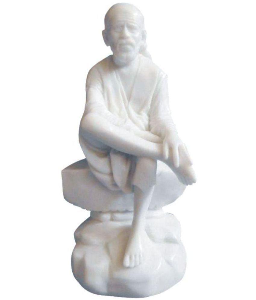 Disha Creation Sai Baba Marble Idol