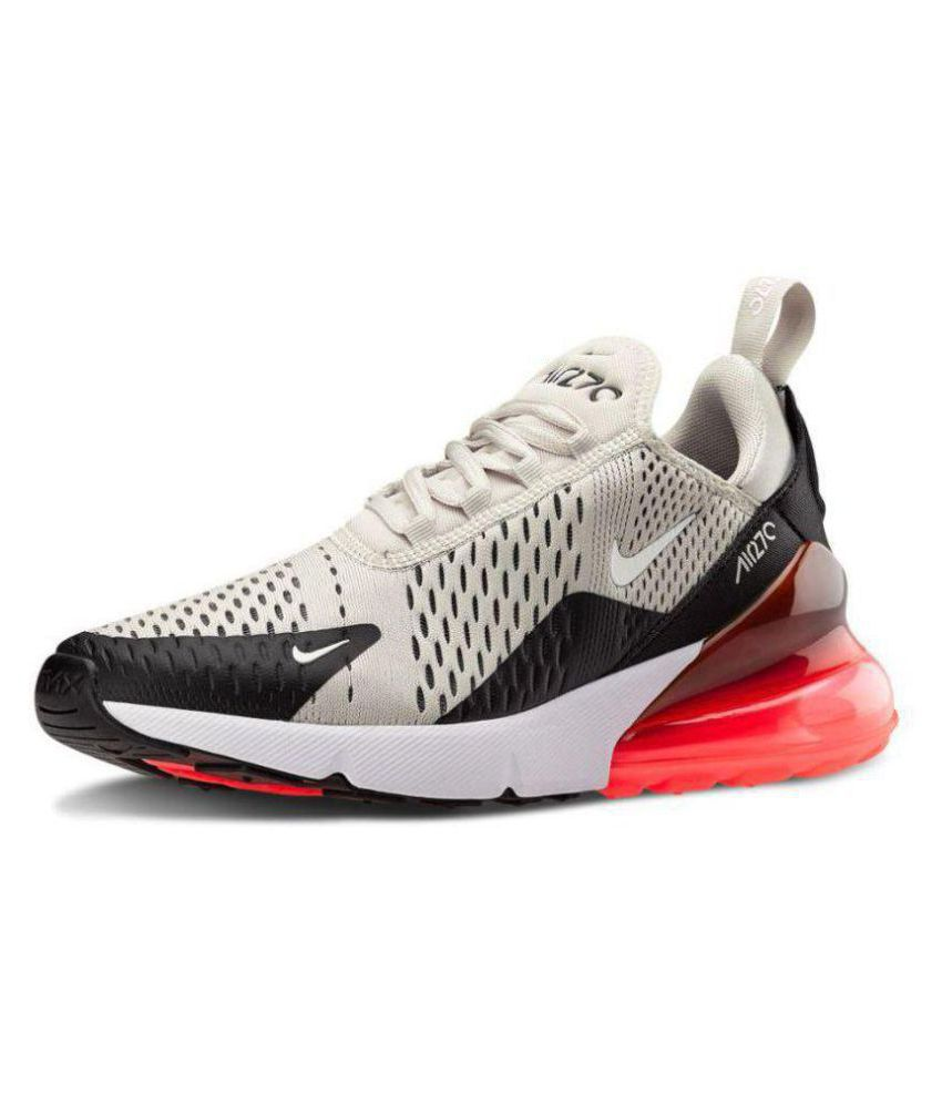 5ce49f7b081fa Zoom Air Silver Running Shoes - Buy Zoom Air Silver Running Shoes Online at Best  Prices in India on Snapdeal