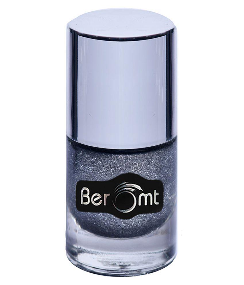 BEROMT Sand Nail Polish Silverish Cloud NP602 Matte 10 ml