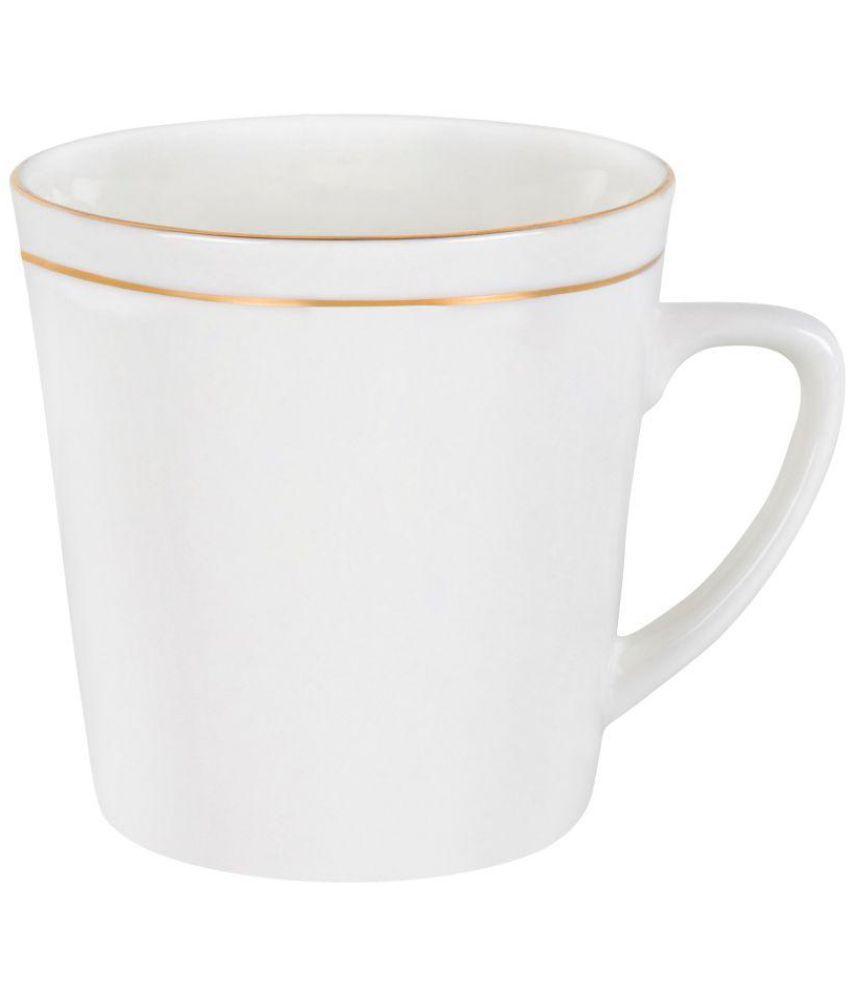 hitkari bone china coffee mug 6 pcs 200 ml buy online at best price rh snapdeal com