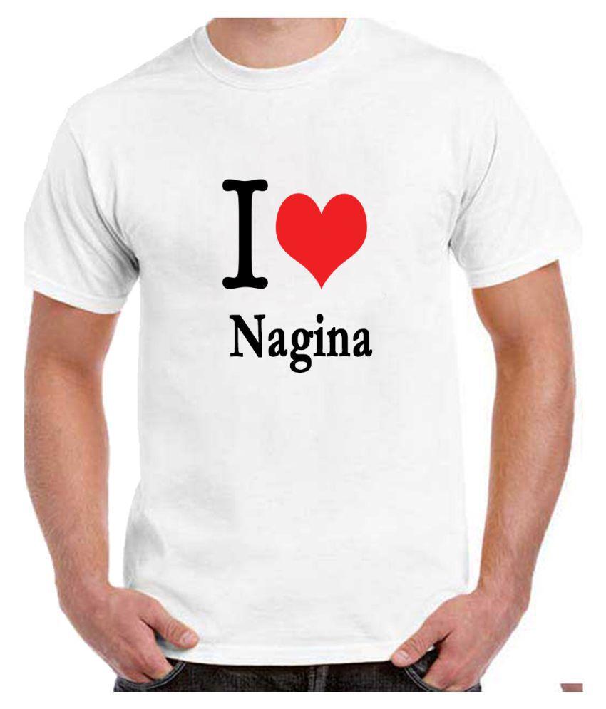 Ritzees Unisex Half Sleeve White Cotton T-Shirt Cotton T-Shirt Nagina City for Men, Women, Kids(White, 38)
