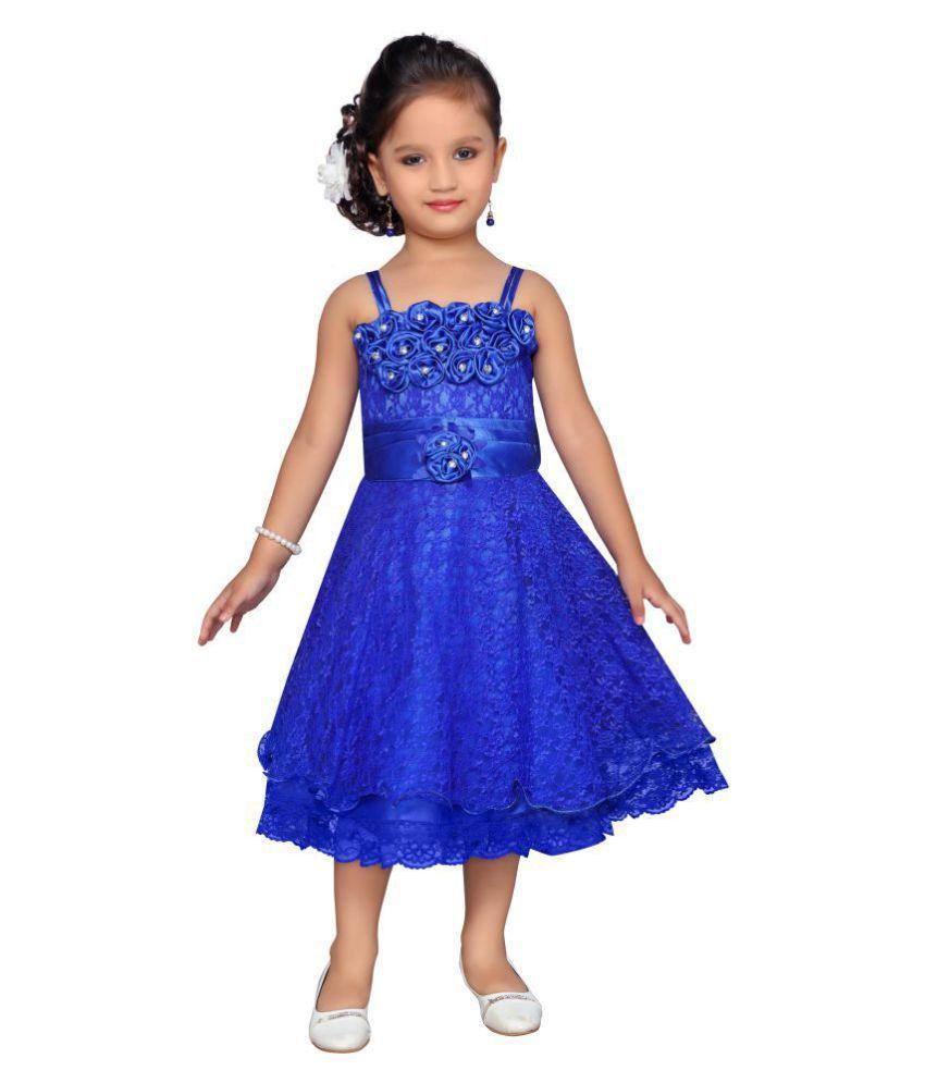 f24874c0d2 Aarika Self Design Party Wear Frock - Buy Aarika Self Design Party Wear  Frock Online at Low Price - Snapdeal