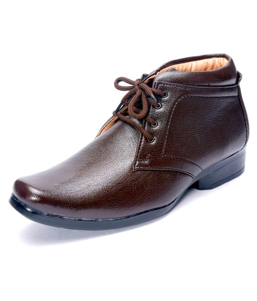 SHOEBOOK Brown Casual Boot
