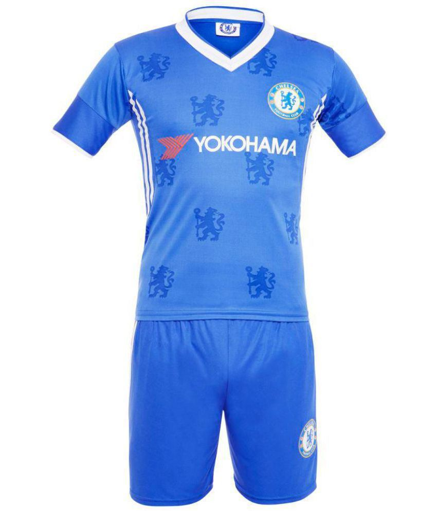 info for ad91a 50f3e Sportigoo Replica CHELSEA KIDS Football Jersey Set - Blue (3-4 Yrs)