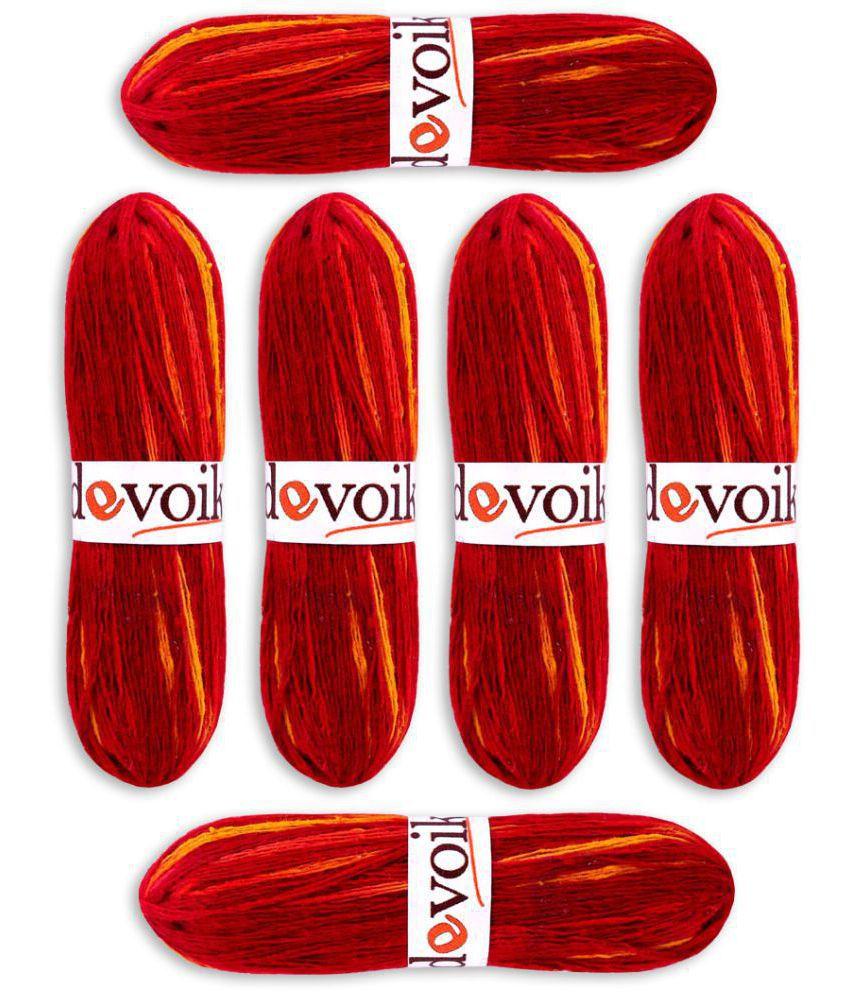 Devoik Handmade Cotton Mauli Coya - Dual Color (Set of 6) (Mauli, Kalawa, Moli Dhaga, Thread, Raksha Sutra, Puja Mouli, Rakhi, Pooja Dhaaga)