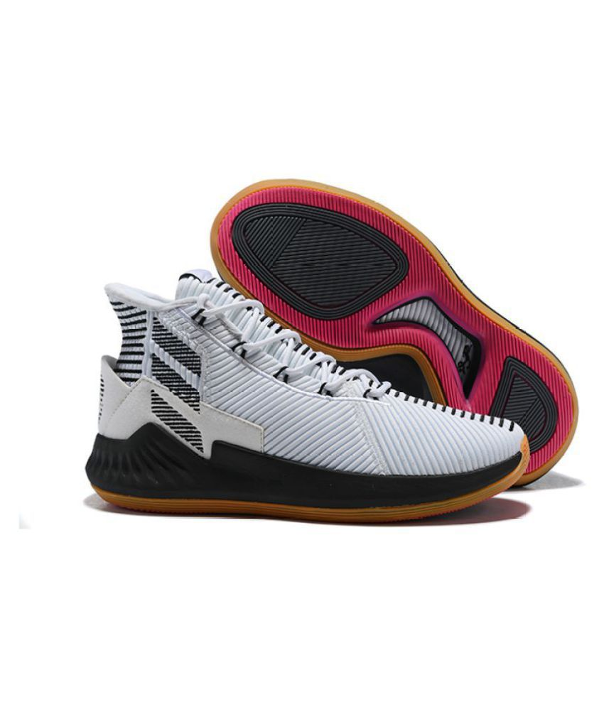 Adidas Original s D ROSE 9 2018 LTD White Basketball Shoes - Buy Adidas  Original s D ROSE 9 2018 LTD White Basketball Shoes Online at Best Prices  in India ... 1172284c4