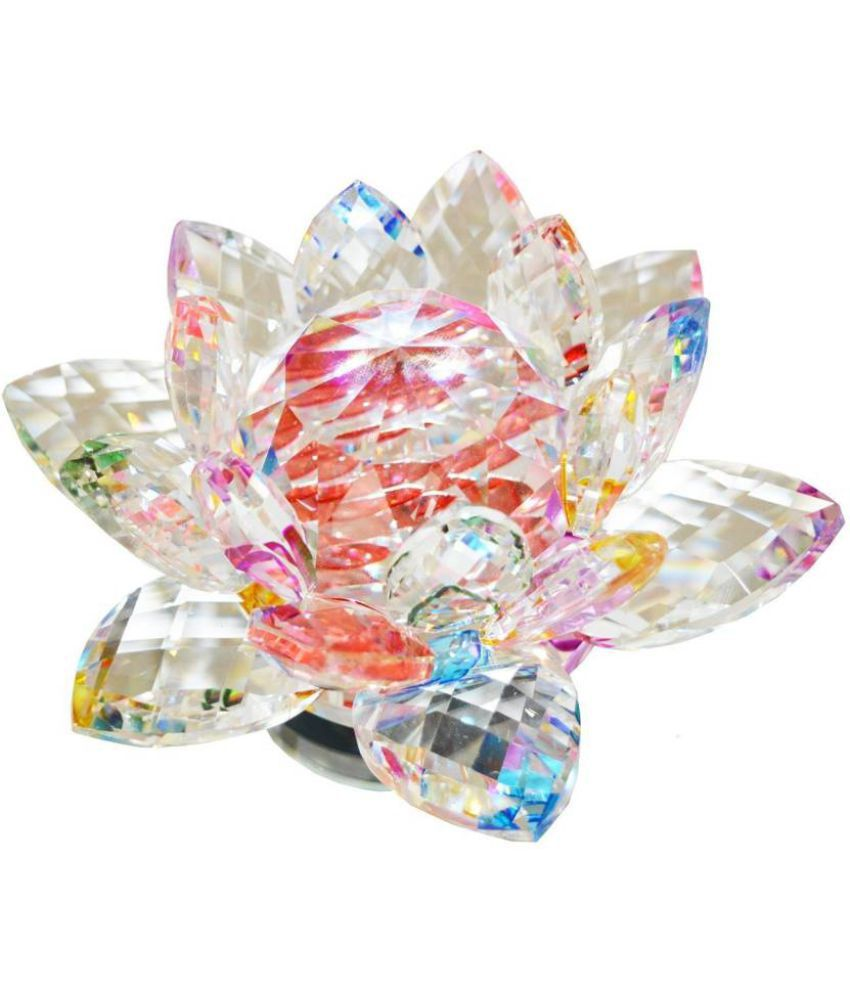 Crystal Lotus Flower Peace Wealth Prosperity Buy Crystal Lotus