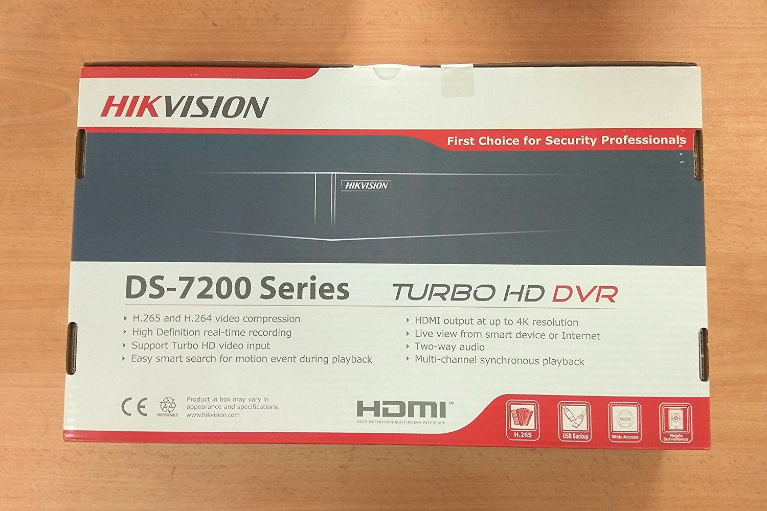 Hikvision DS-7B08HQHI-K1 8 Channel DVR