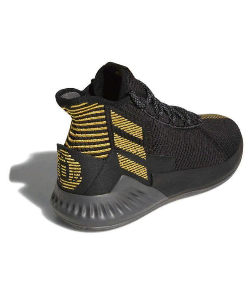 670339ea Adidas original's D ROSE 9 2018 LTD Black Basketball Shoes