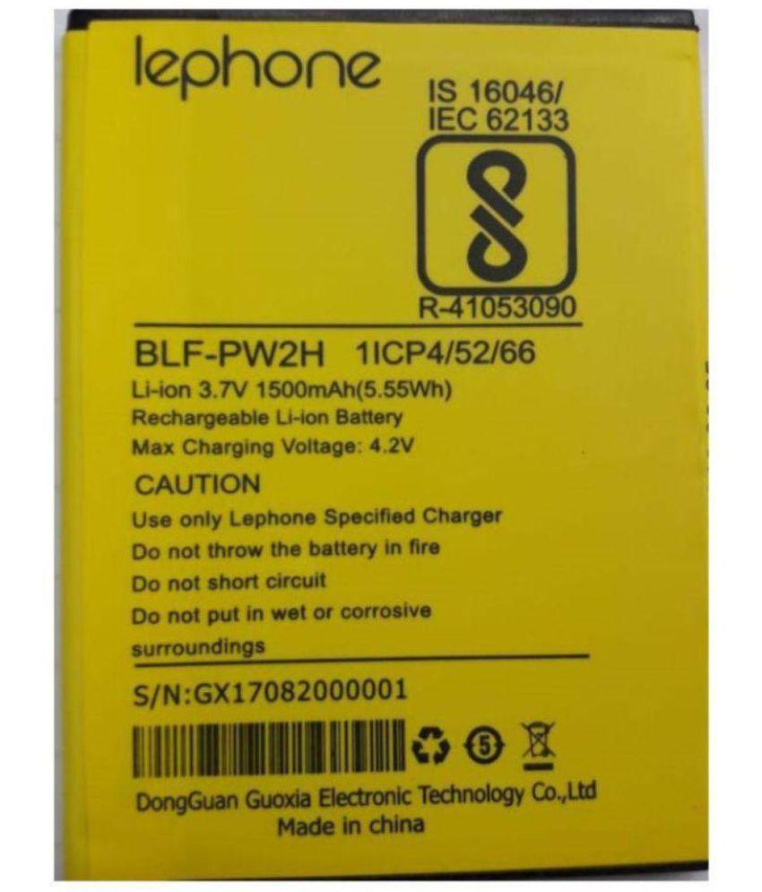 Lephone W2 1500 mAh Battery by Lephone