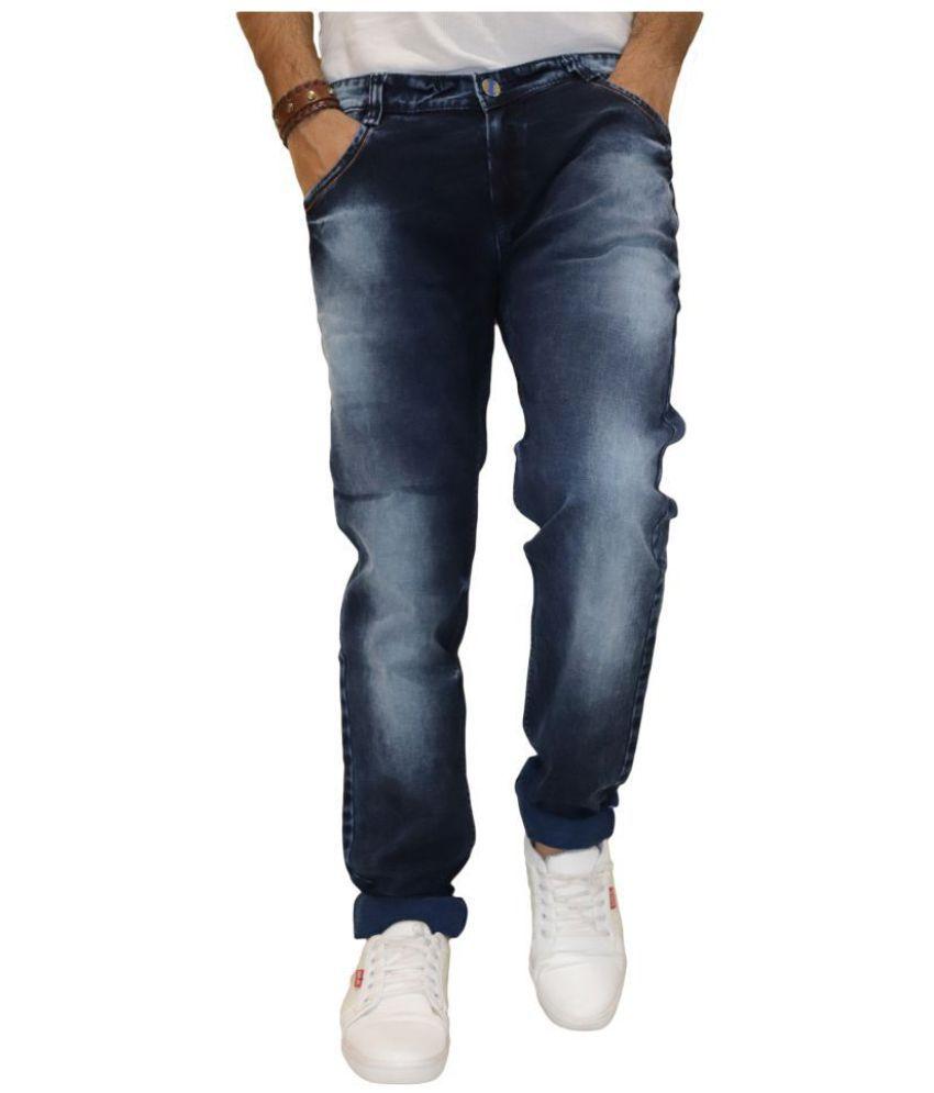 POOL CLUB Dark Blue Slim Jeans