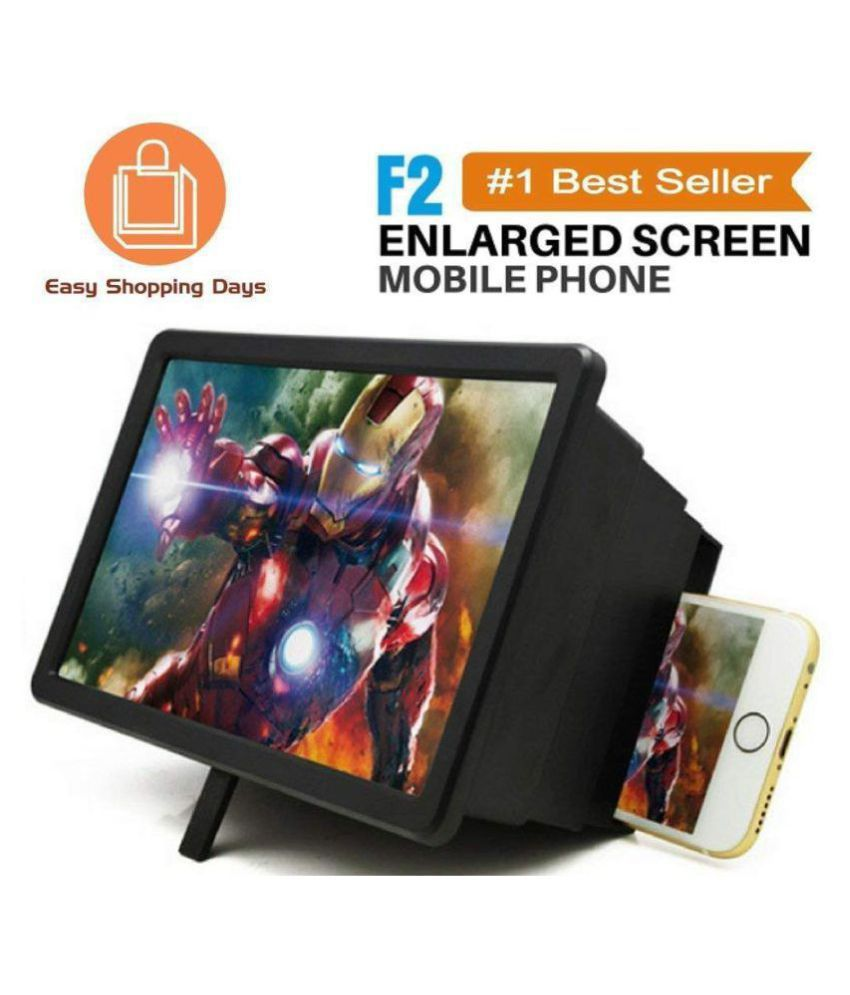80f853ab7419b7 Universal 3D F2 Mobile Phone | 3D Screen Magnifier Enlarger | 3D Video  Screen Amplifier | Eyes Protection | Stand Holder ...