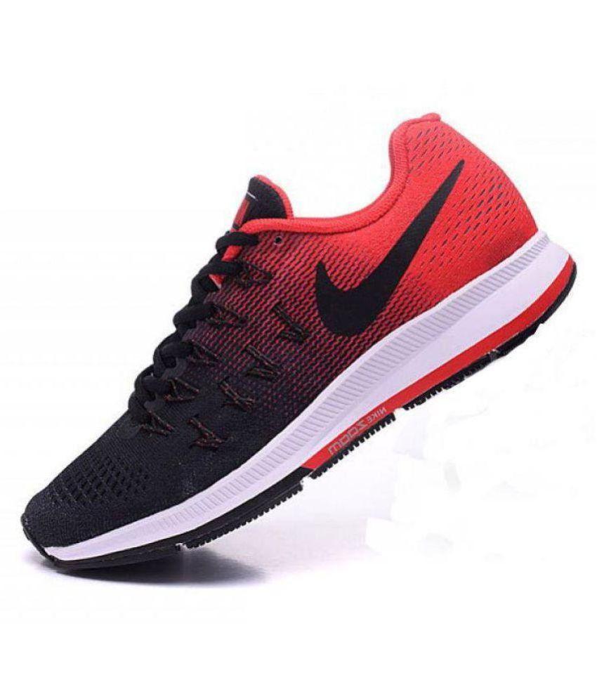 NIKE 2019 Zoom Pegasus 33 Red   Black Running Shoes Multi Color  Buy Online  at Best Price on Snapdeal 18aab07ec