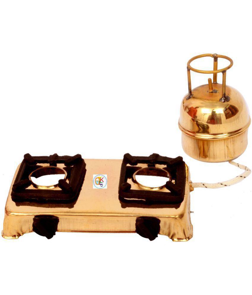Kdt gold brass antique kids kitchen set 0f 10 pcs 16 x 12 x 1