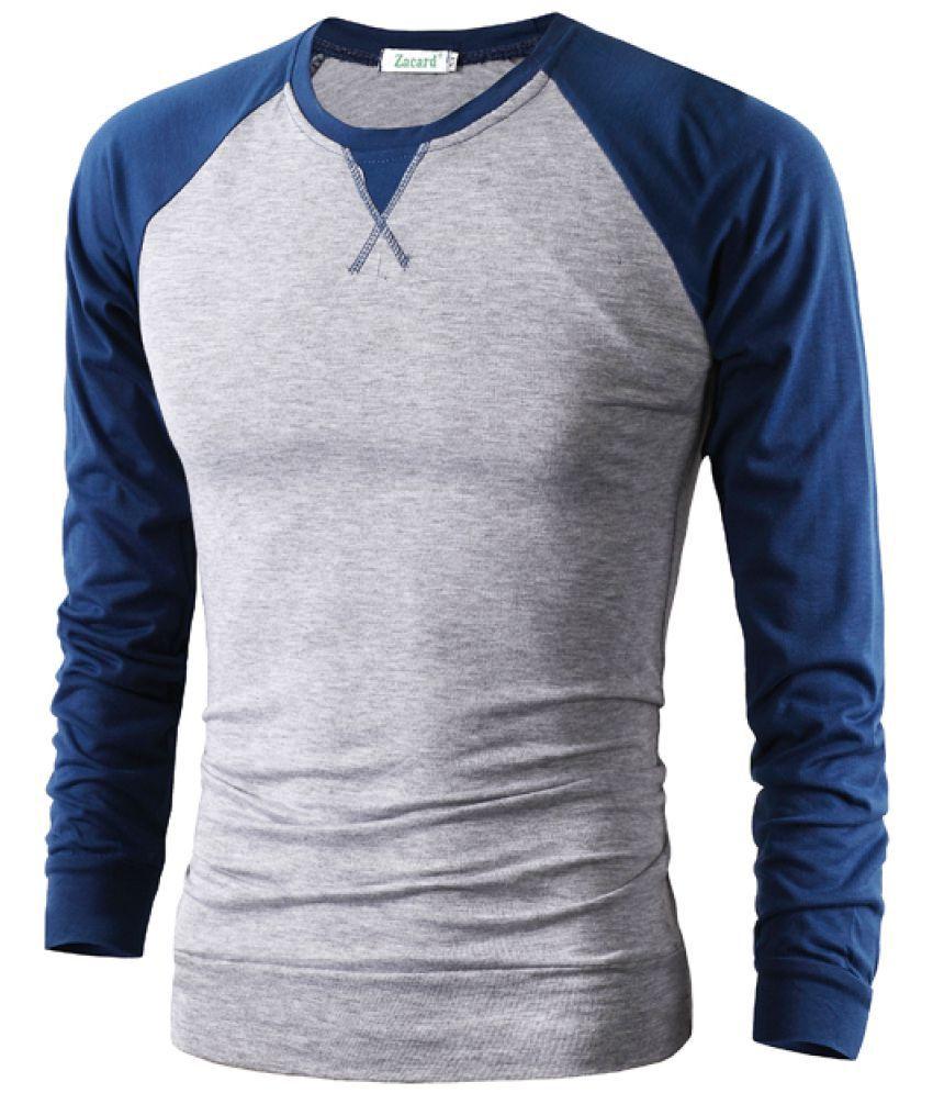 Epiphany grey Full Sleeve T-Shirt Pack of 1