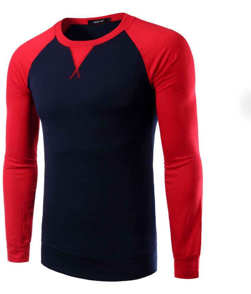 Epiphany red Full Sleeve T-Shirt Pack of 1