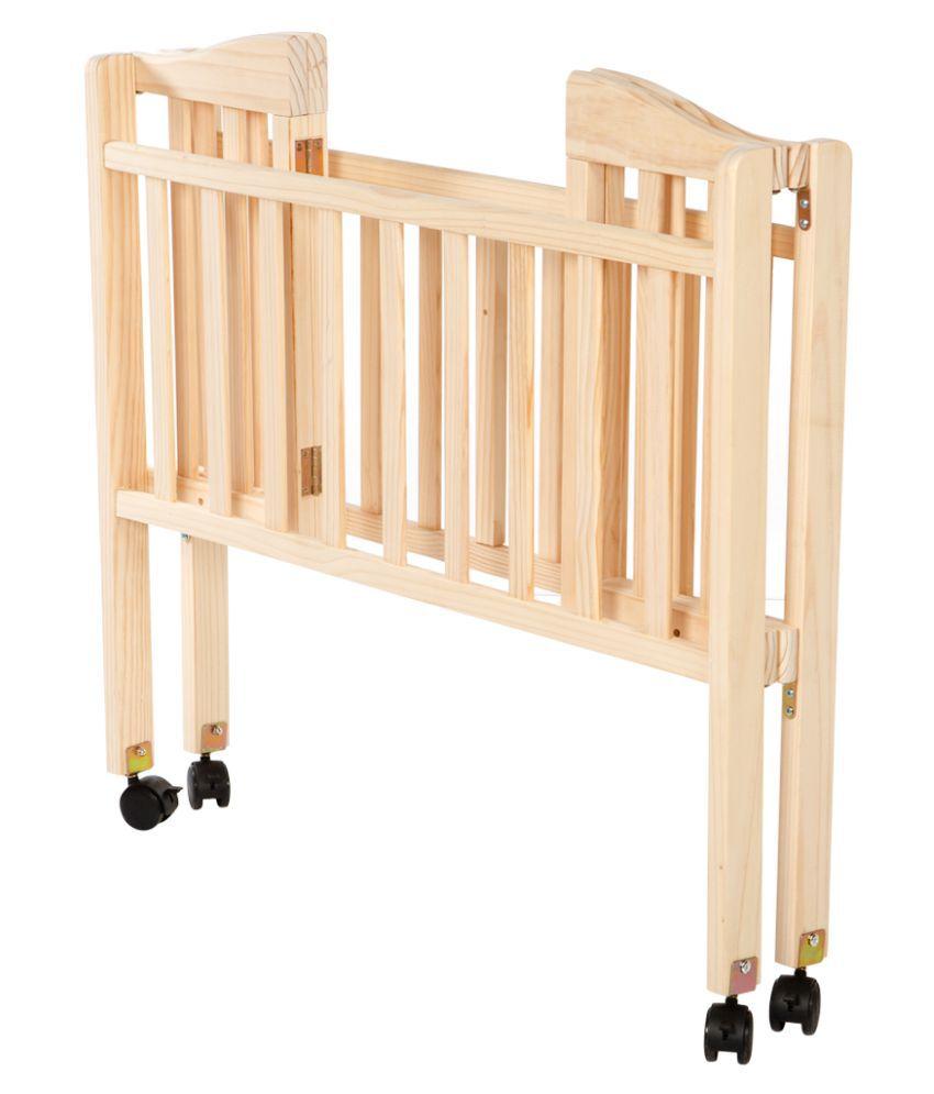 Mee Mee Compact Folding Wooden Baby Cot - Buy Mee Mee ...