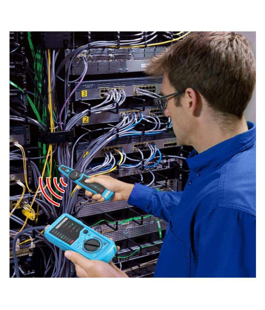 Pleasant Techtest Rj11 Rj45 Cable Tester Multifunction Wire Tracker Check Wiring 101 Cominwise Assnl