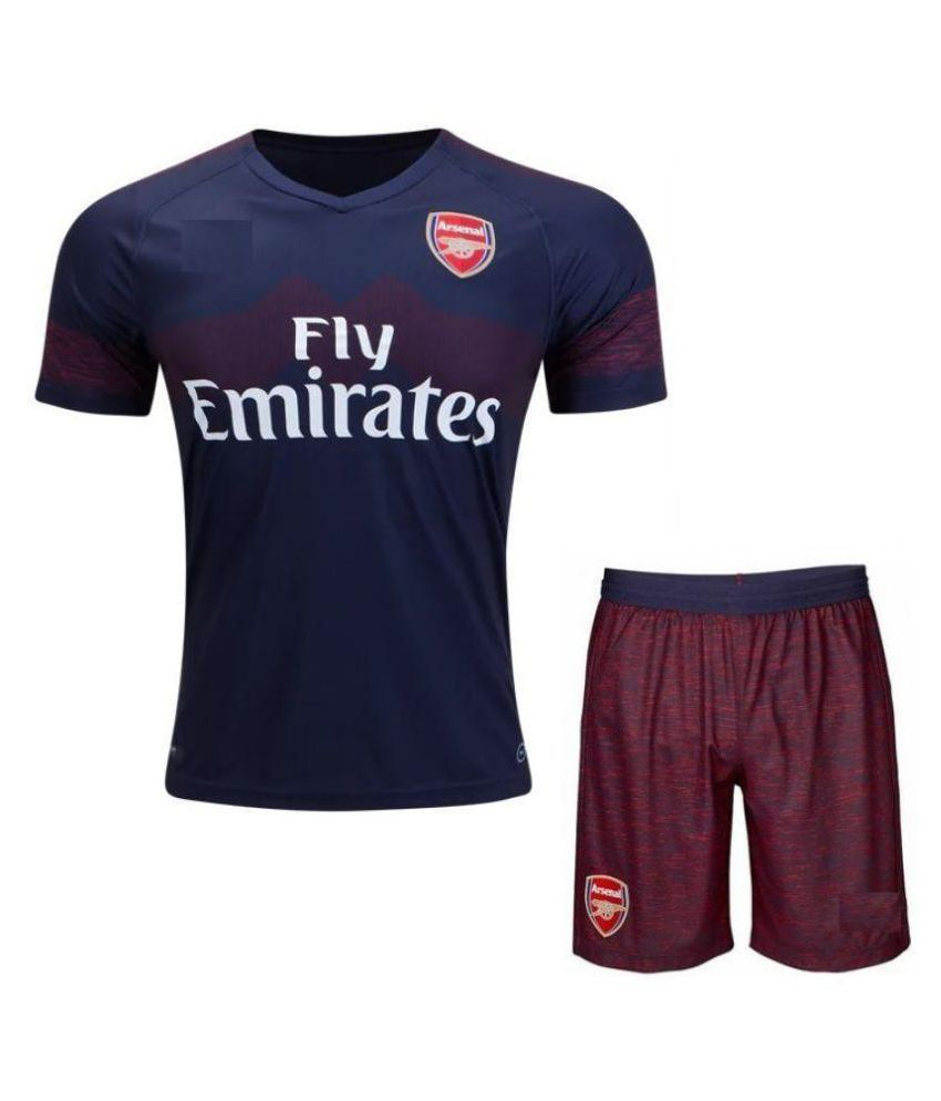 detailed look ca166 0d28d Arsenal Away Kit Soccer Jersey WITH SHORTS 2018-2019