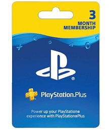Sony PlayStation Plus 3 Month Membership (Indian PSN account) ( PS4 )
